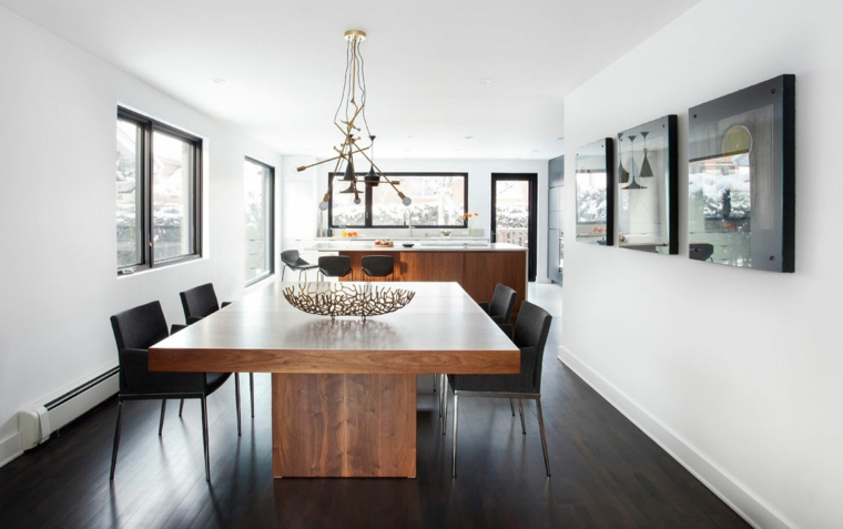 decoracion-comedor-moderno-diseno-mesa-madera